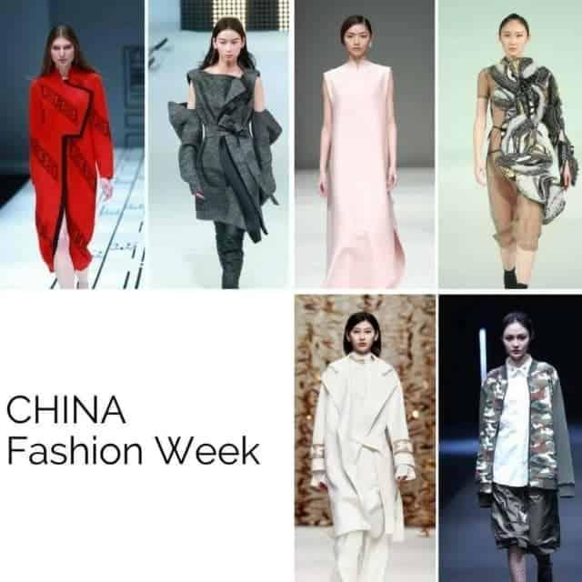 Un viaggio tra le fashion week nel mondo CHINA FASHIONhellip